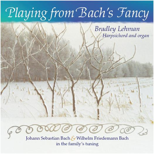 Playing from Bach's fancy - cover art
