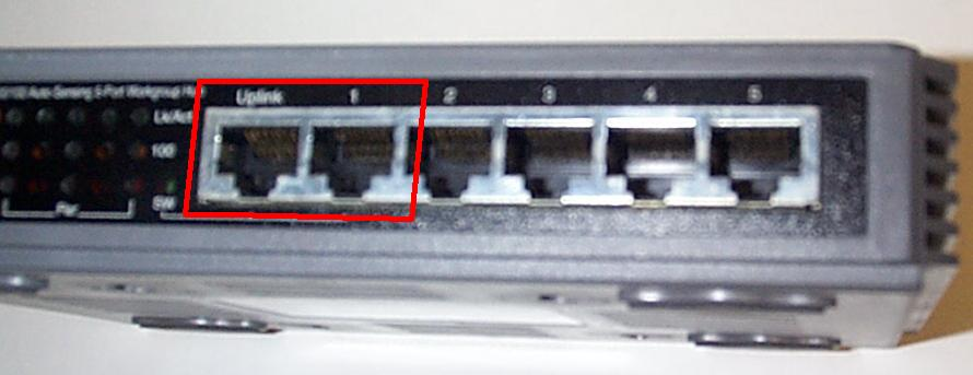 035uplinkport jpg it is possible to connect a number of hubs and switches together to form your network this can allow you some flexibility in wiring
