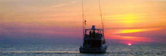 Charter Fishing, Onekama, Michigan - The Two Lake Town