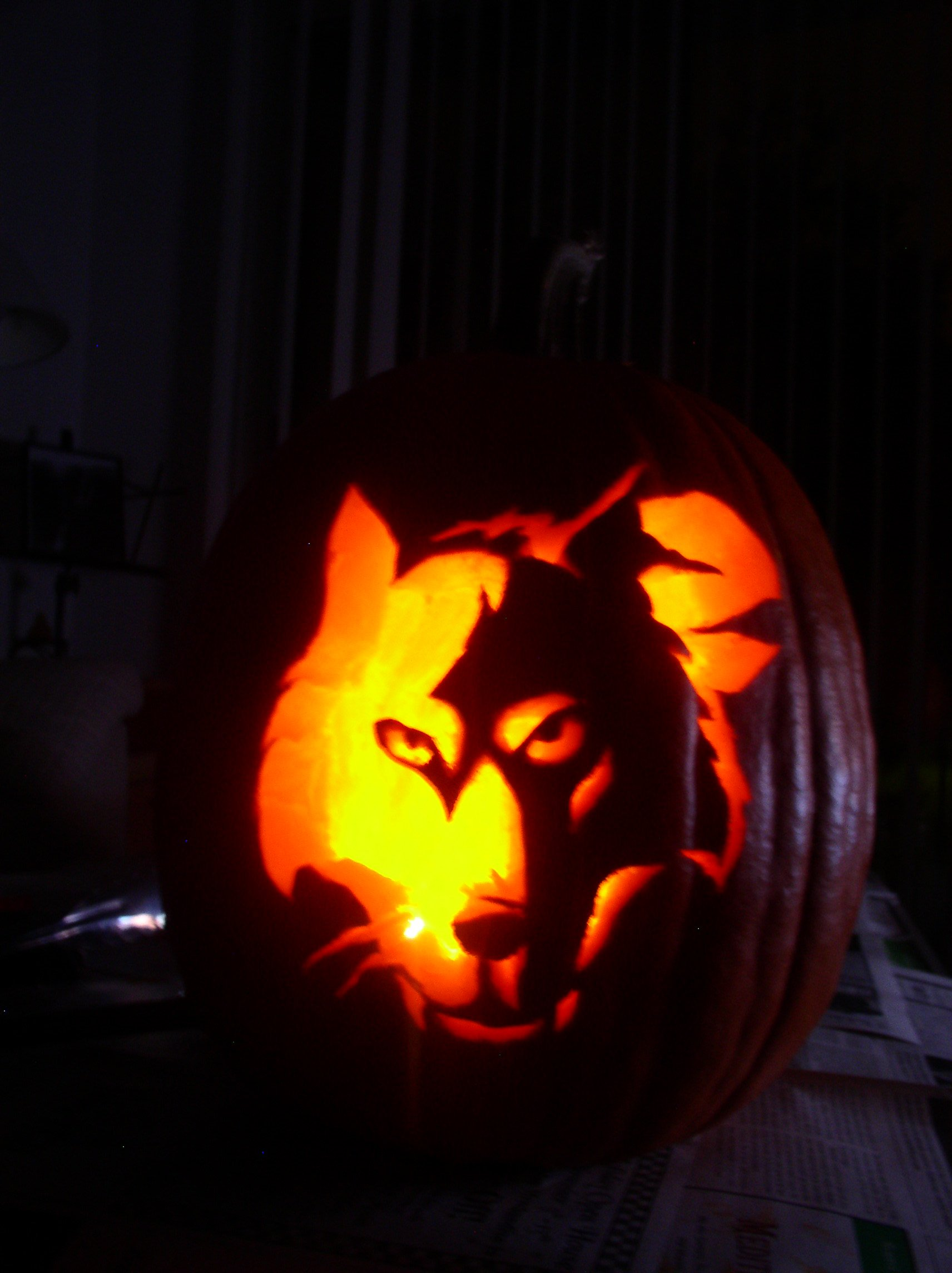 Wolf o lantern colossus of rhode