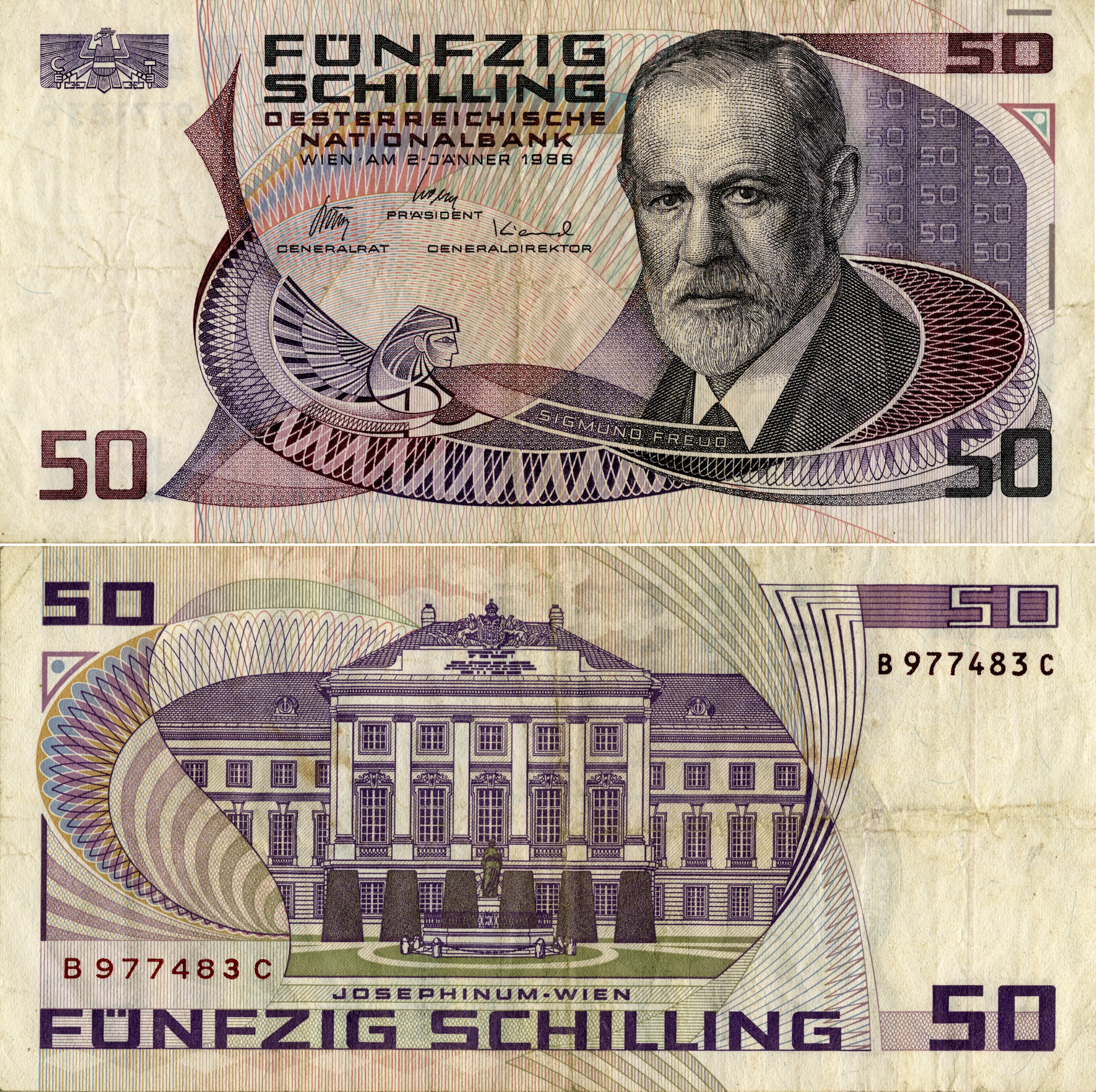 My German Finances: Physicists On Banknotes