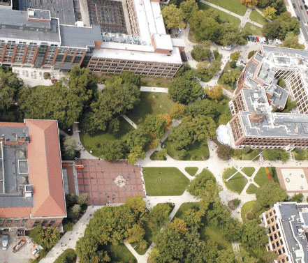 The Diag As Seen From The Air