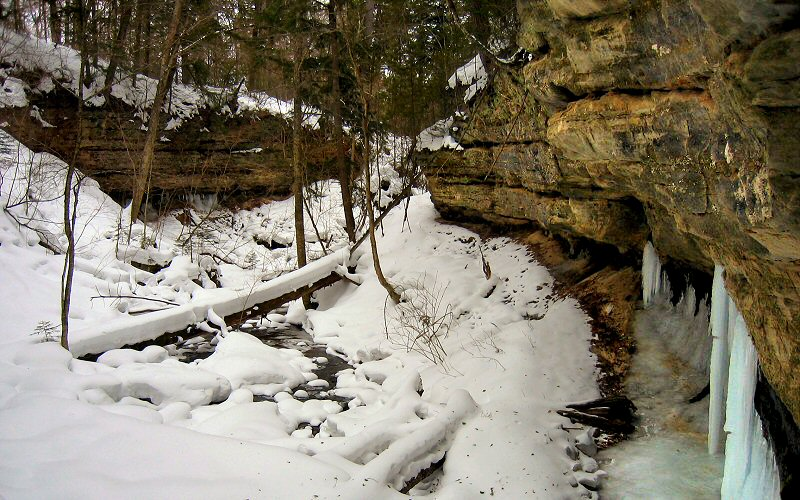 Pictured Rocks In Winter Ice Climbing Michigan Photos Trip Report