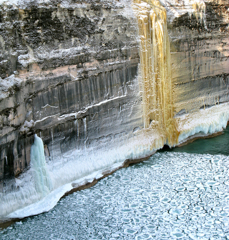 Winter Backpacking At Pictured Rocks Michigan Photos Trip Report