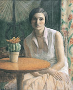 """Portrait of a Woman (with cactus),"" 1930, Private Collection"