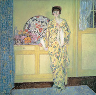 """The Yellow Room,"" by 1913, Museum of Fine Arts, Boston"