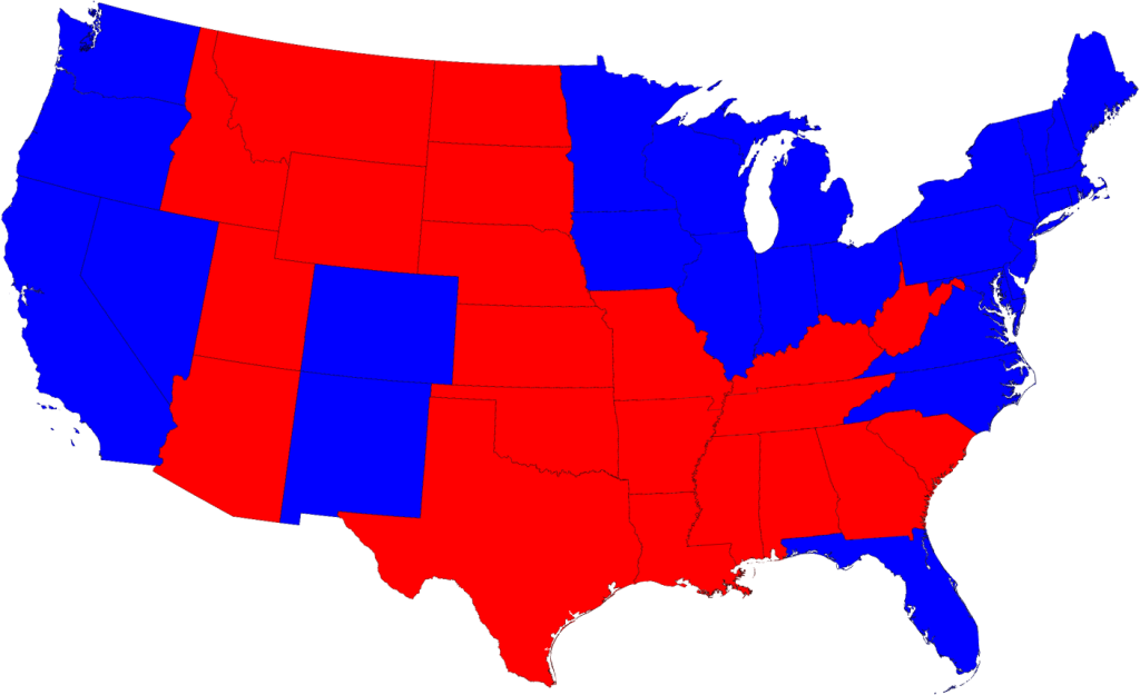 Maps Of The 2008 Us Presidential Election Results