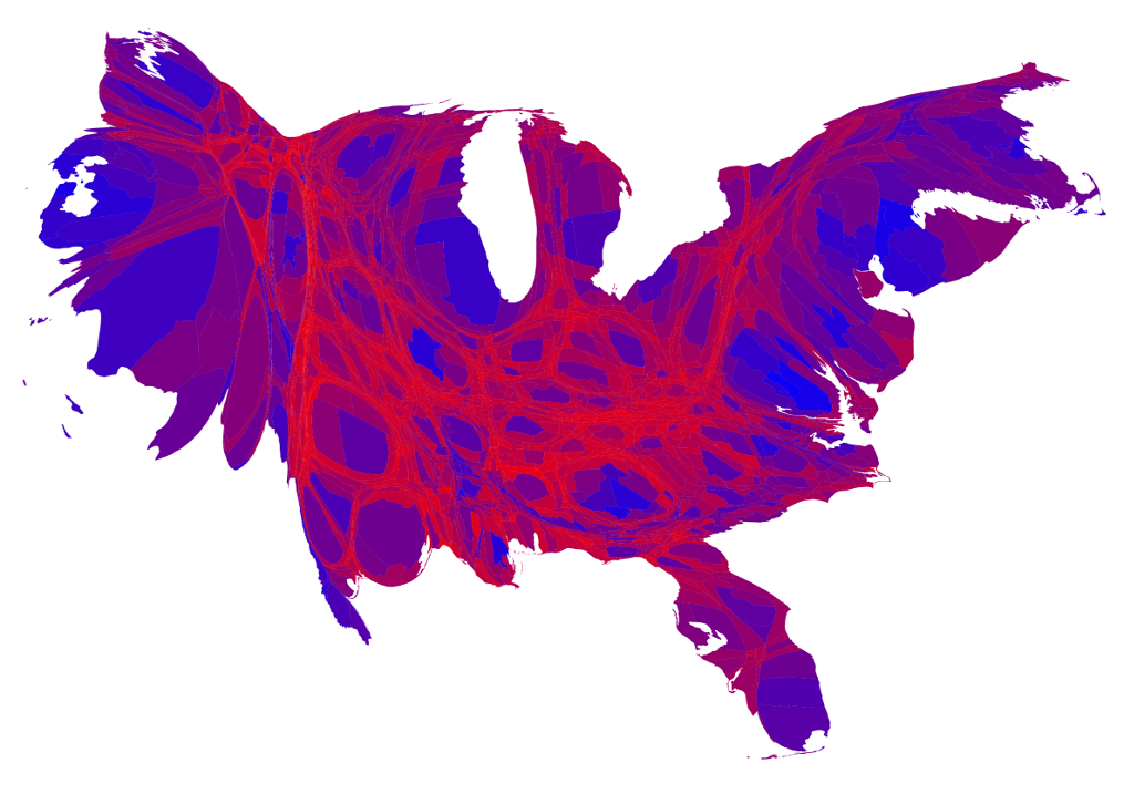 Election Maps - Us election history map