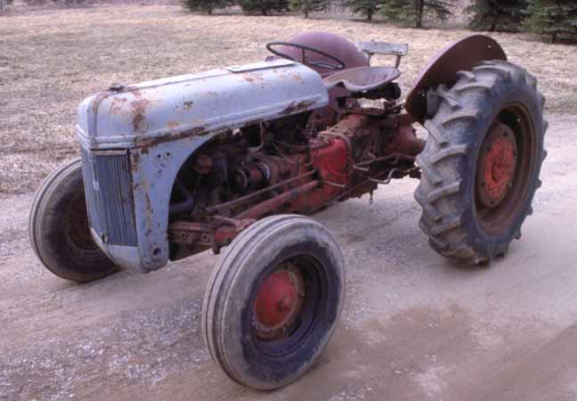 Restored Ford 9n : Serial number ford tractor autos we