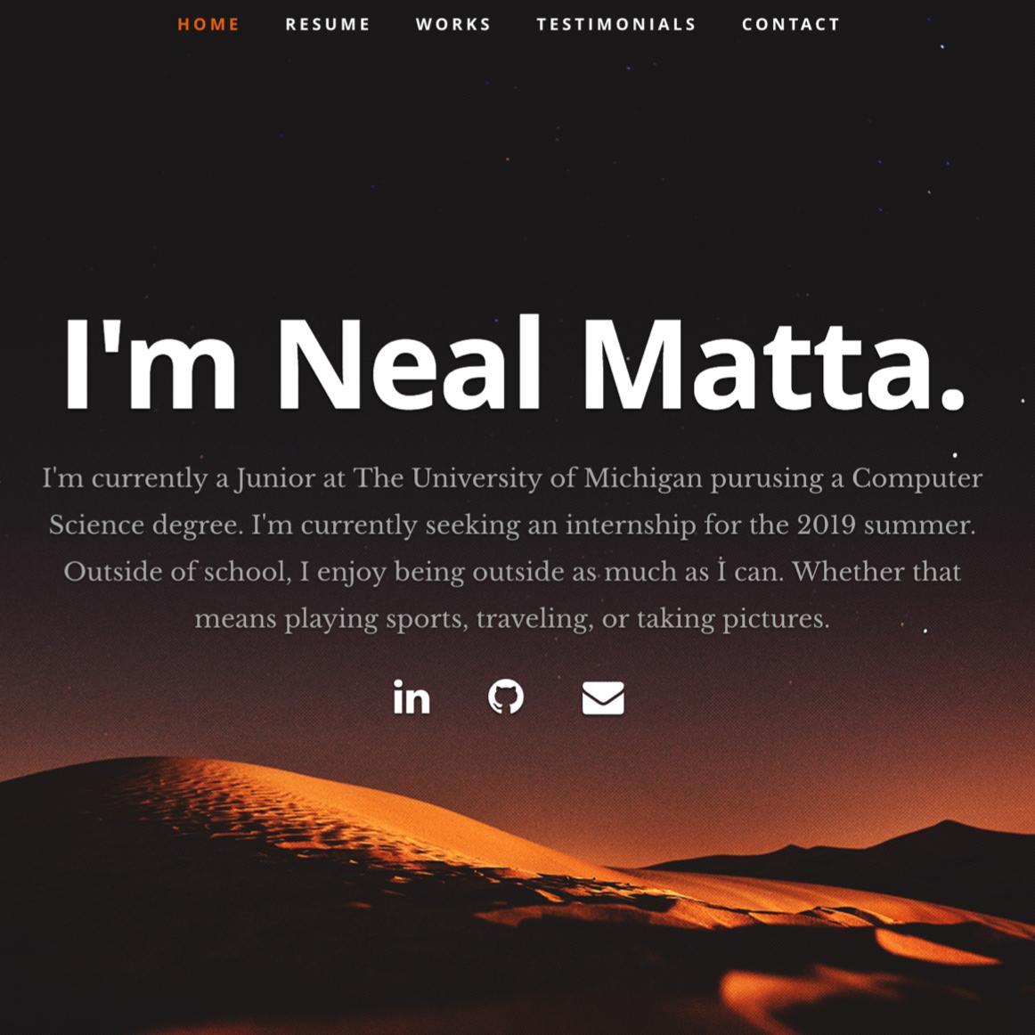 Neal Matta