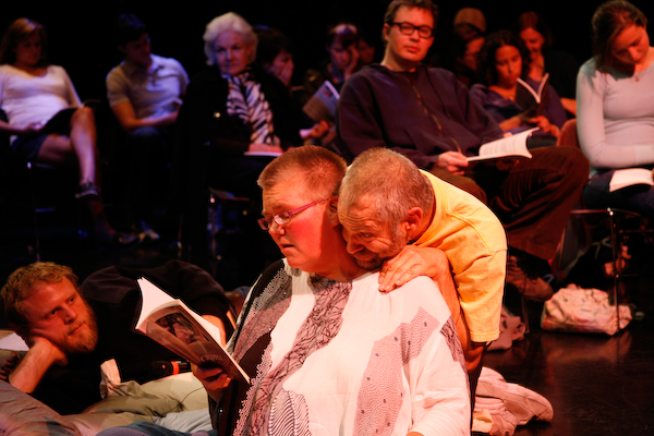 Neil y Petra en la Universidad de Michigan, el rendimiento, foto: Jefe de hogar de Tim