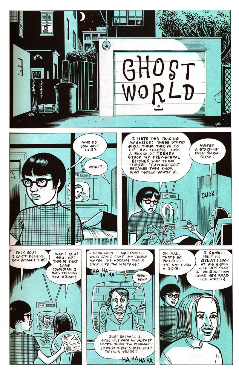 ghost world comic book