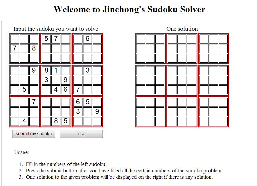 Jinchong Zhou's Homepage