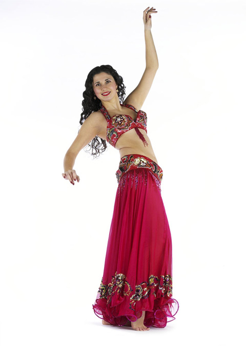Ana Maria's belly dance photo shoot