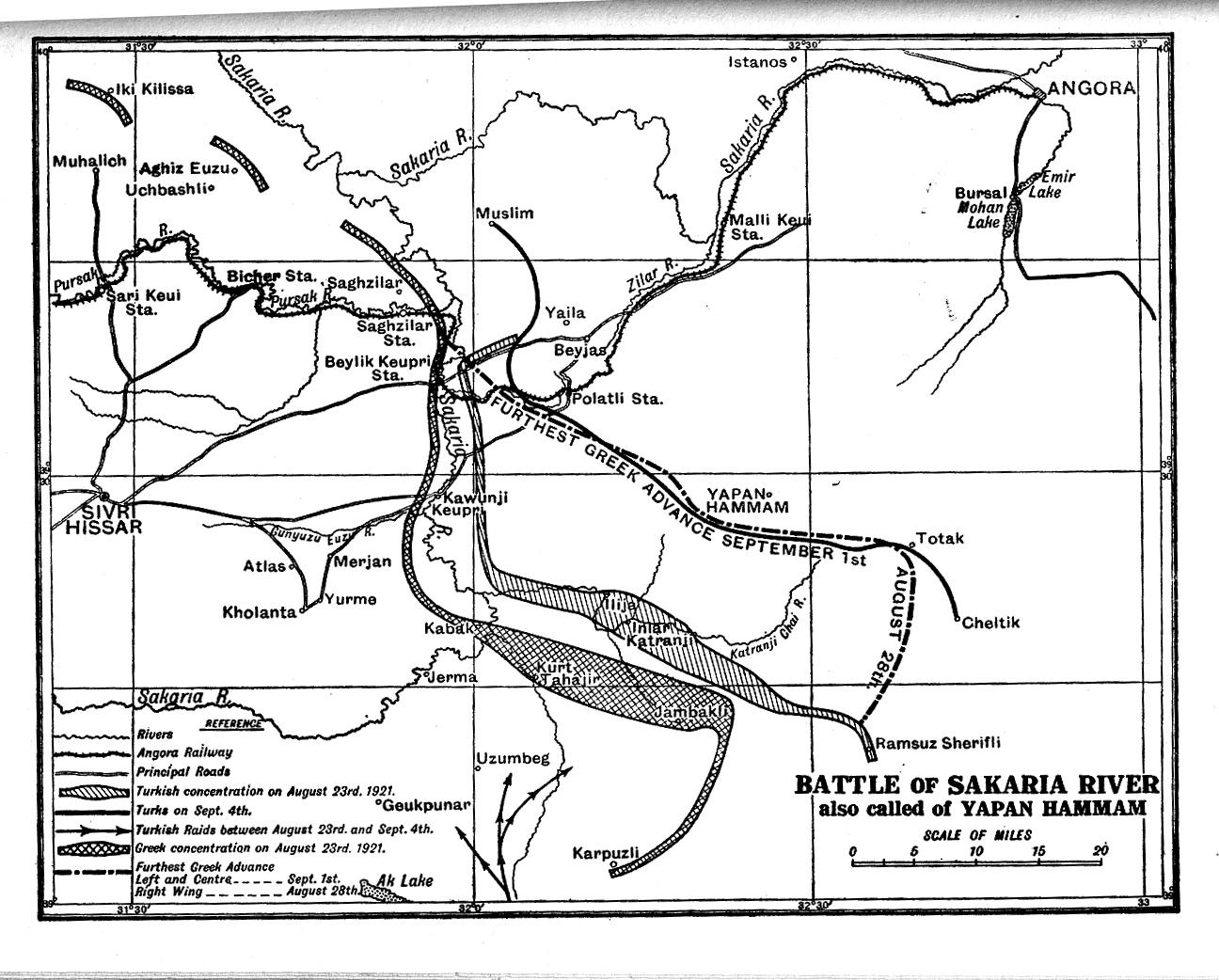 battle of sakarya map ile ilgili görsel sonucu