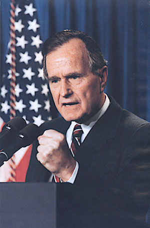 George H.W. Bush su Wikipedia