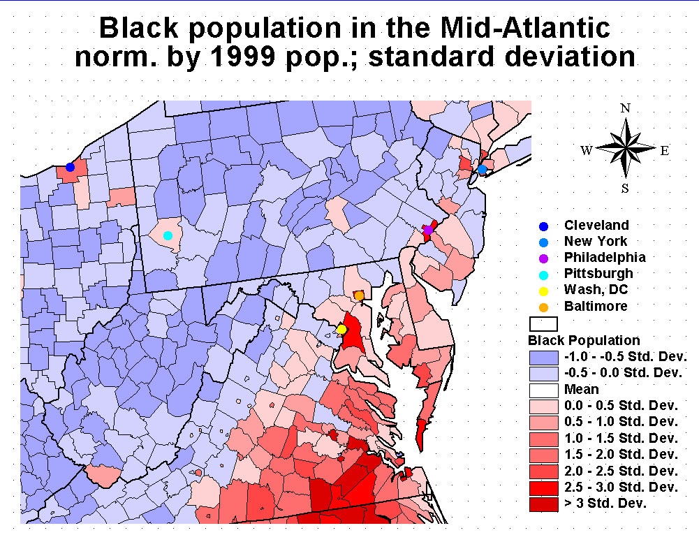 Map Of Us Percentage Of Black Poulation fidorme