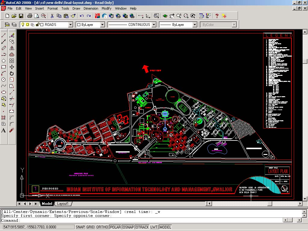 Site Plan Autocad : Auto cad drawings