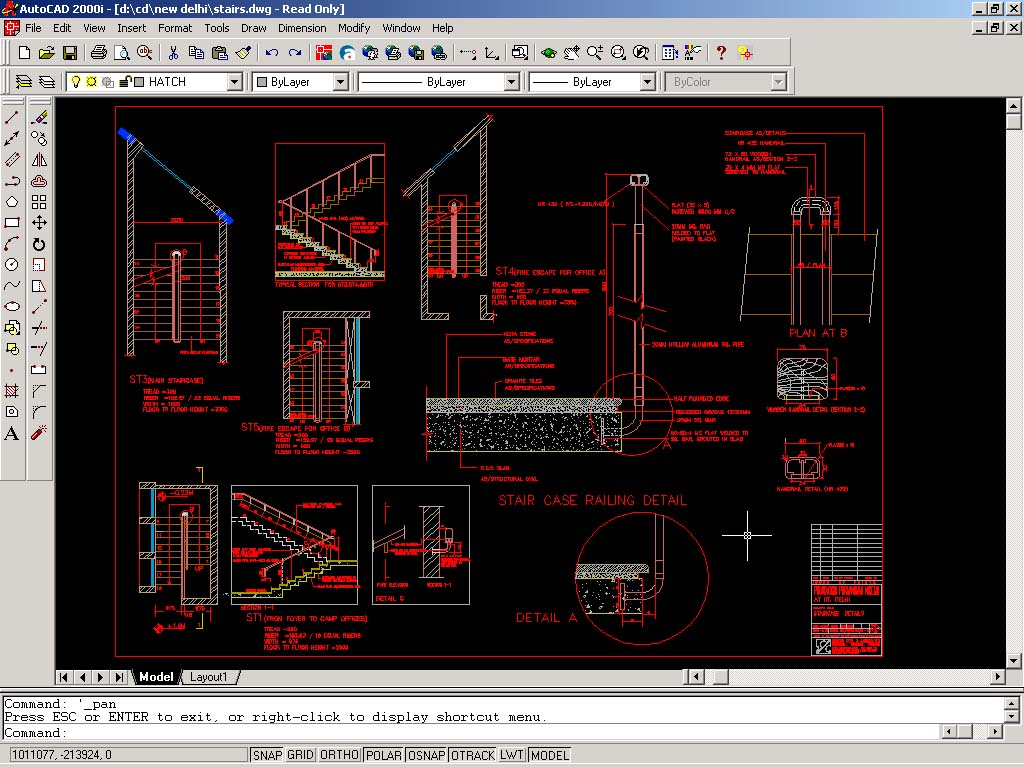 Auto CAD Drawings