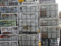 International newspaper rack