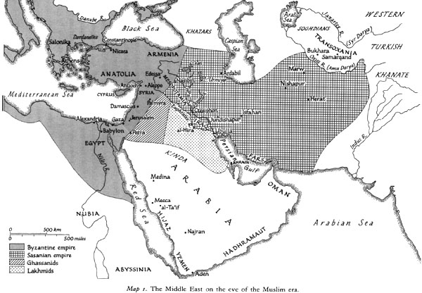 Image result for map of islam on arabian peninsula