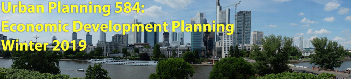 URP 584 Economic Development Planning (Campbell)